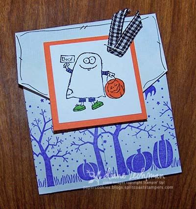 Spooky envelope treats What side of envelope does stamp go on