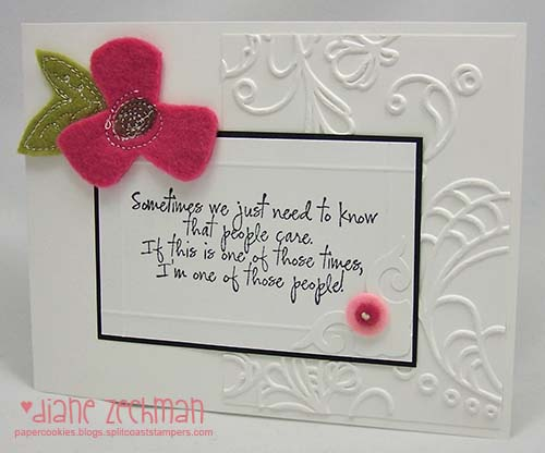 Saying goodbye i am way behind on a few sympathy cards probably because i avoid those goodbyes and i thought this lovely verse from amyrs get well sentiments was just m4hsunfo Image collections