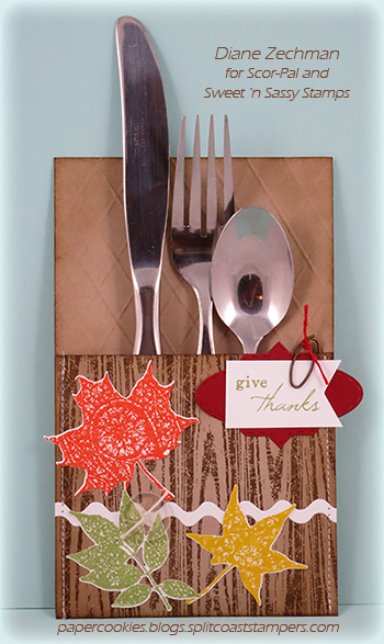 give thanks silverware pocket diane zechman