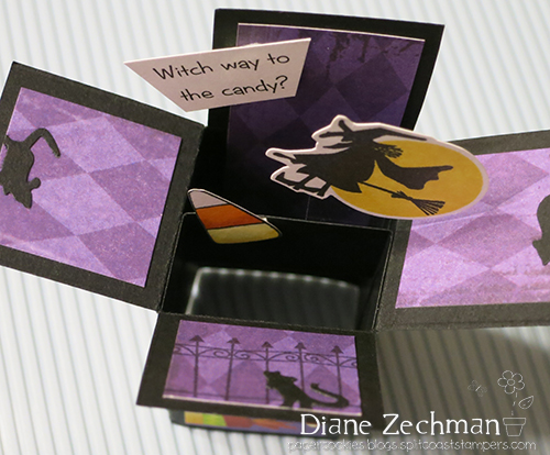 witch way ATC 4 diane zechman