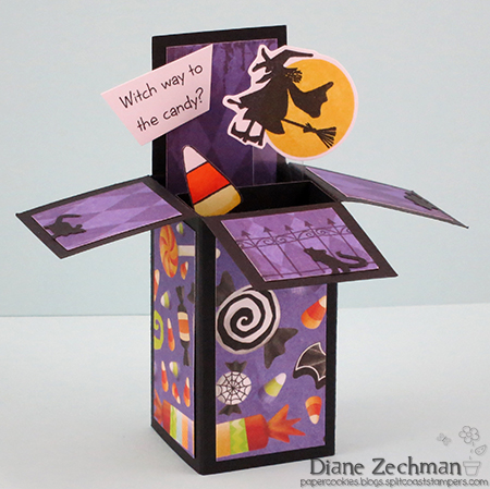 witch way ATC diane zechman