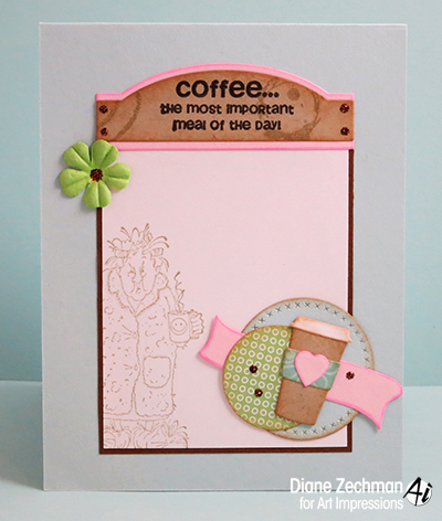 coffee card candy 3 diane zechman
