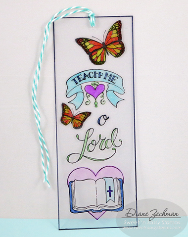clear bookmark 2 diane zechman