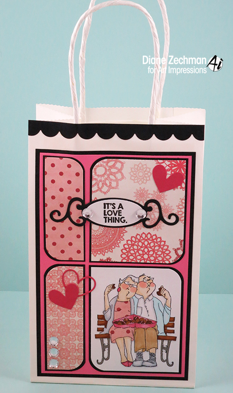Love Thing gift bag diane zechman