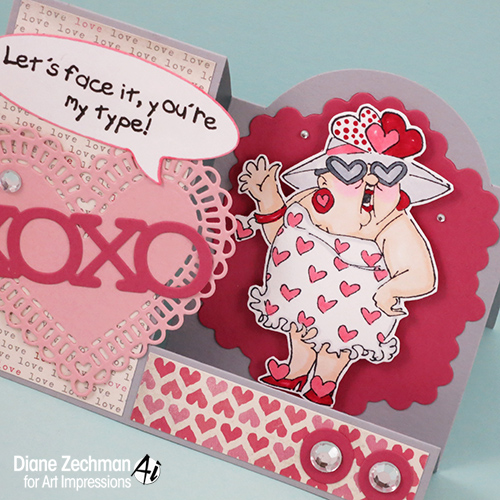 show the love step card 2 diane zechman