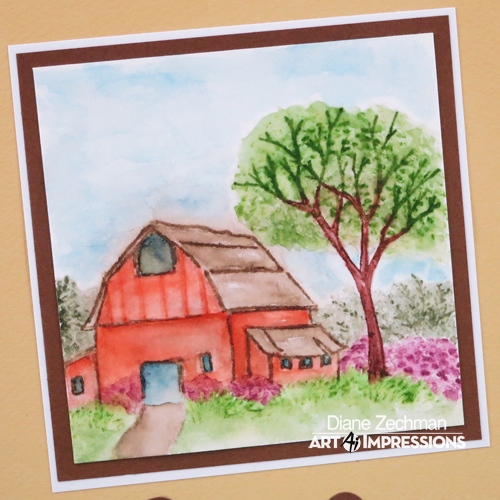 Old Barn close diane zechman pc