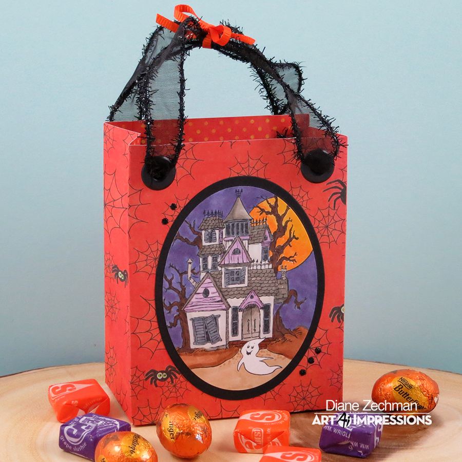 HL Haunted House bag 1 diane zechman