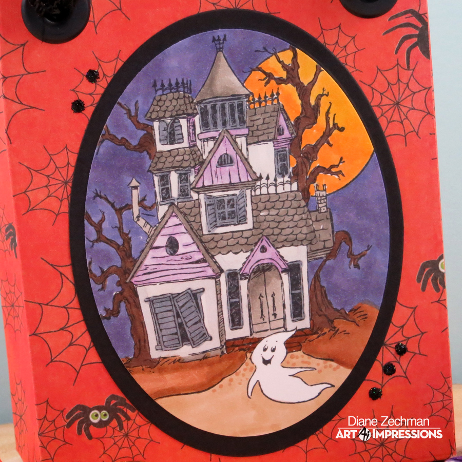 HL Haunted House bag 2 diane zechman